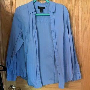 Lane Bryant button up dress shirt